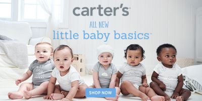 Carter's all New, little baby basics, Shop now