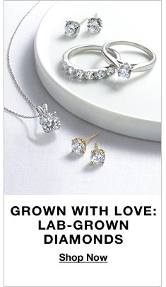 Grown With Love: Lab-Grown Diamonds, Shop Now