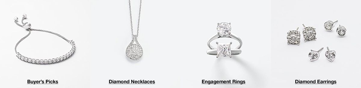 Buyer's Picks, Diamond Necklaces, Engagement Rings, Diamond Earrings