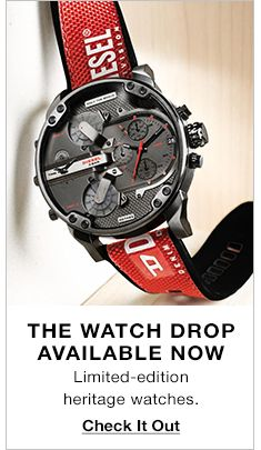 The Watch drop Available Now, Limited-edition heritage watches, Check it Out