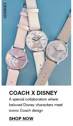 Coach x Disney, Shop Now