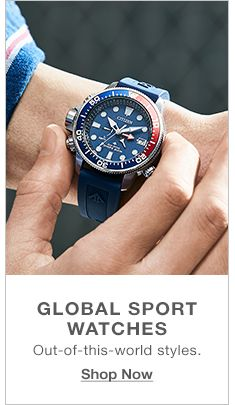 Global Sport Watches, Out-of-this-world styles, Shop Now