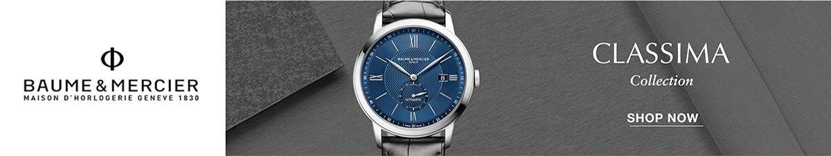 Baume and Mercier, Classima Collection, Shop Now