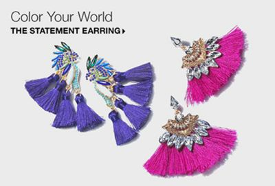 Color Your World, The Statement Earring