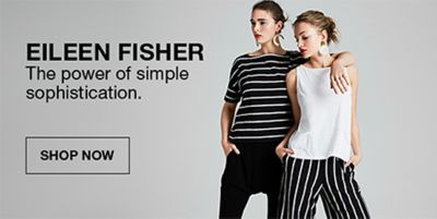 Eileen Fisher, The power of simple sophistication, Shop Now