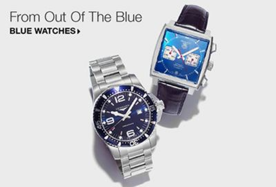 From Out of The Blue, Blue Watches