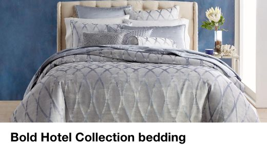 Bold Hotel Collection bedding