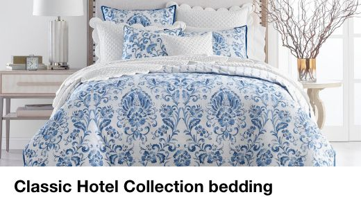 Classic Hotel Collection bedding