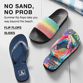 no Sand, no Prob, Flip Flops Slides