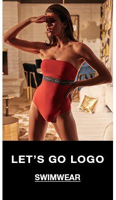 Let's go Logo, Swimwear
