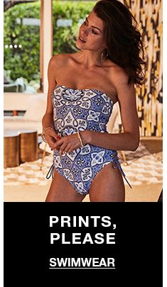 Prints, Please, Swimwear