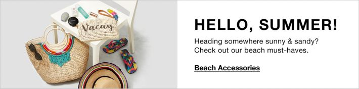 3246bf50 Heading somewhere sunny and Sandy? Check out our beach must-