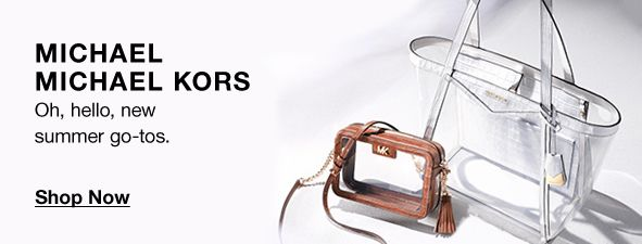 Michael Michael Kors, oh, hello, new summer go-tos, Shop Now