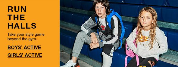 Run The Halls, Take your style game beyond the gym, Boy's Active, Girls' Active