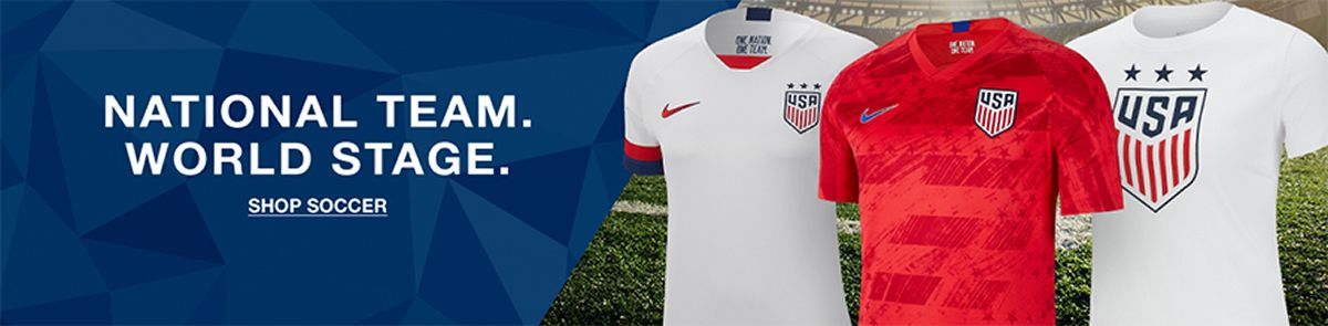 National Team World Stage, Shop Soccer