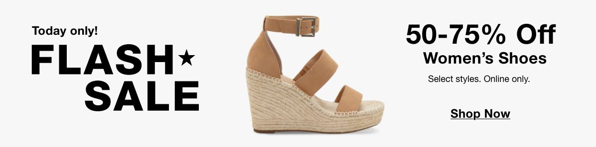 Today only! Flash Sale Sale, 50-75% Off, Women's Shoes, Shop Now