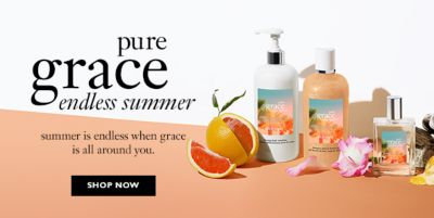 Pure grace endless summer, summer is endless when grace is all around you, Shop Now