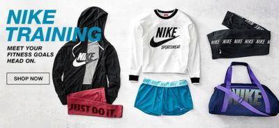 Nike Training, Meet Your Fitness Goals head on, Shop Now