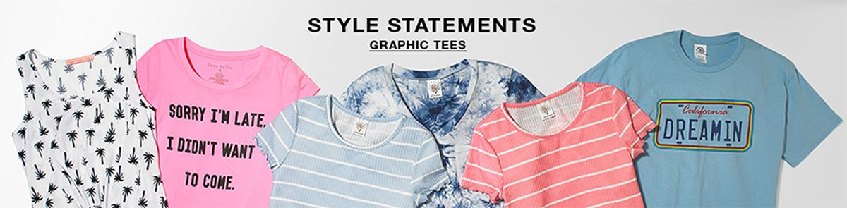 Style Statements, Graphic Tees