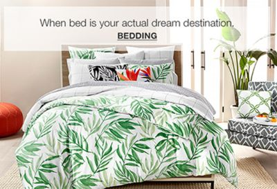 When bed is your actual dream destination, Bedding