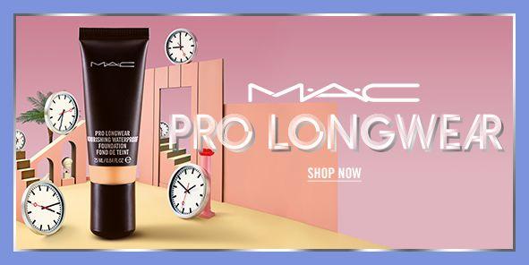 Mac, Pro Longwear, Shop Now