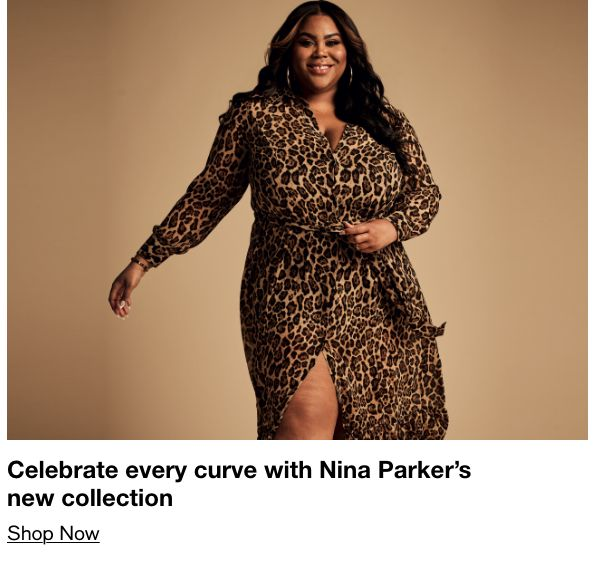 Celebrate every curve with Nina Parker's new collection, Shop Now