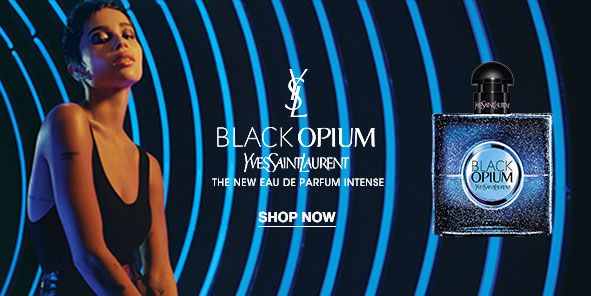 Black Opium, Yves Saint Laurent, The New Eau de Parfum Intense, Shop Now