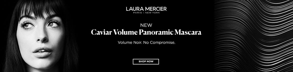 Laura Mercier Paris, New York, New Caviar Volume Panamic Mascara, Volume Noir, no Compromise, Shop Nowor