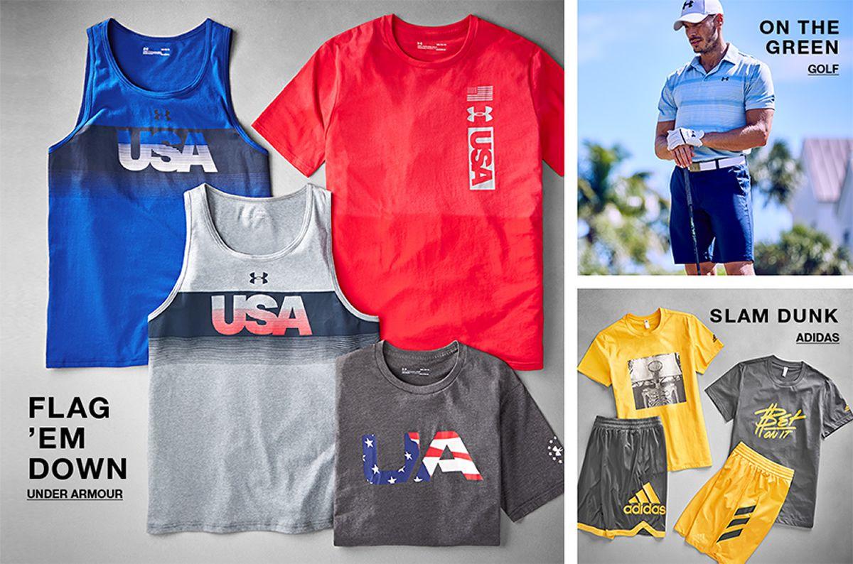 Flag 'em Down, Under Armour, On The Green, Golf, Slam Dunk, Adidas