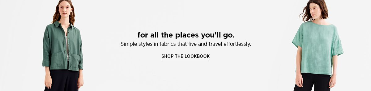for all the places you'll go, Shop The Lookbook
