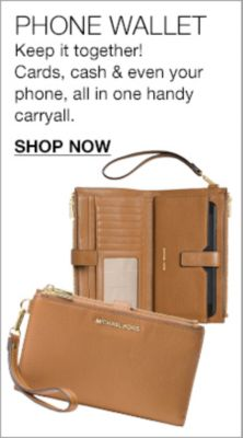 Phone Wallet, Keep it together! Cards, cash and even your phone, all in one handy carryall, Shop Now