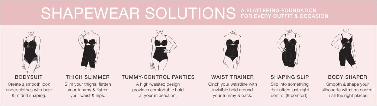 Shapewear Solutions A Flattering Foundation For Every Outfit And Occasion Bodysuit Thigh Slimmer