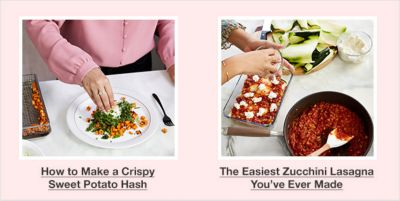 How to Make a Crispy Sweet Potato Hash, The Easiest Zucchini Lasagna You've Ever Made