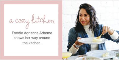 A Cozy Kitchen, Foodie Adrianna Adarme Knows her way around the Kitchen