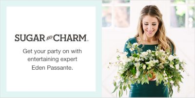 Sugar and Charm, Get your party on with entertaining expert Eden Passante