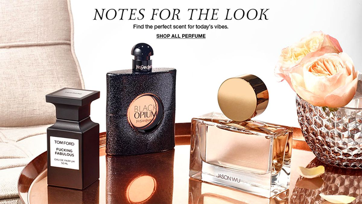 Notes For The Look, Find the perfect scent for today's vibes, Shop All Perfume