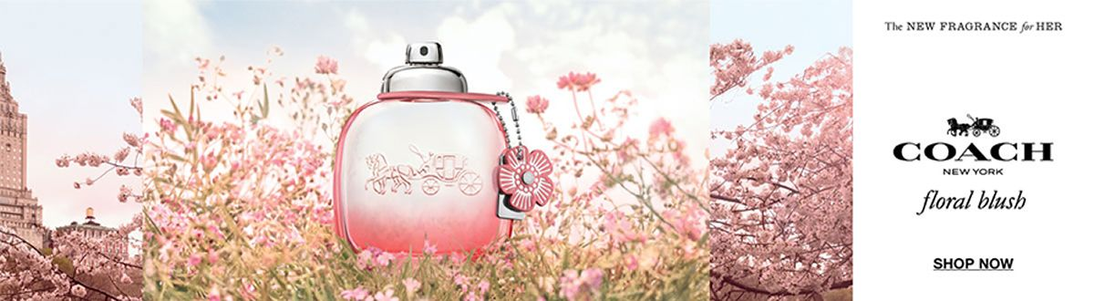 The New Fragrance for her, Coach, New York, floral blush, Shop Now