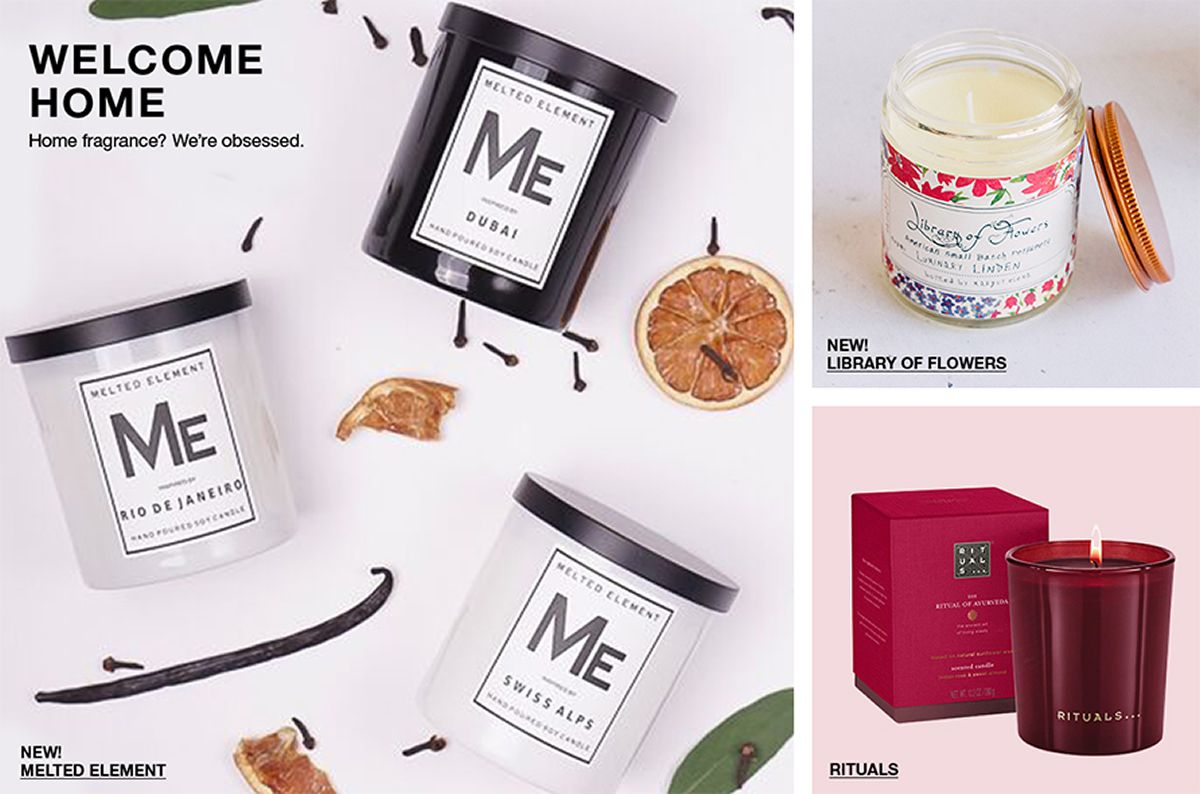 Welcome Home, Home fragrance? We're obsessed, New! Melted Element, New! Library of Flowers, Rituals