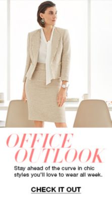 Office Outlook, Stay ahead of the curve in chic styles you'll love to wear all week, Check it Out