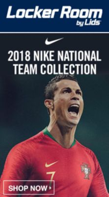 Locker Room by Lids, 2018 Nike National Team Collection, Shop Now