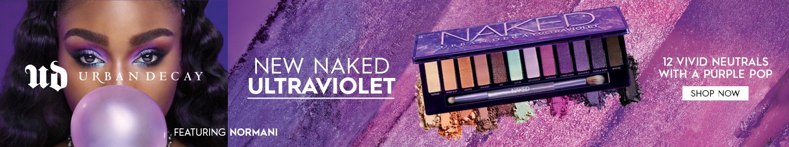Ud, Urban Decay, New Naked Ultraviolet, Featuring Normani, Shop Now