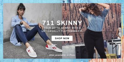 711 Skinny Your Go-To Skinny with a Universally Flattering Fit, Shop Now