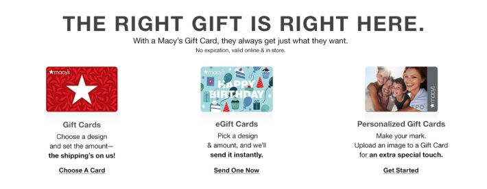 Gift Cards E Certificates