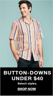 2ae3ce5f Button-Downs Under $40, select styles, Shop Now · Michael Kors Men's Solid  Stretch Shirt