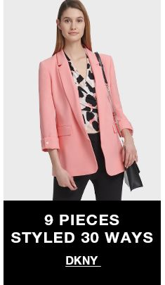 9 pieces Styled 30 Ways, Dkny