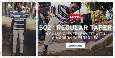 Levi's, 502 Regular Taper, A Classic, Everyday Fith With a Modern Tapered Leg, Shop Now