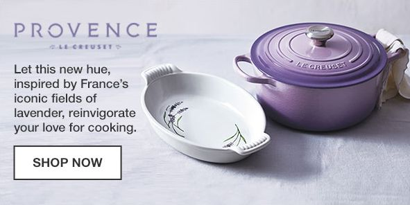 Provence, Let this new hue, inspired by Frace's iconic fields of lavender, reinvigorate your love for cooking, Shop Now