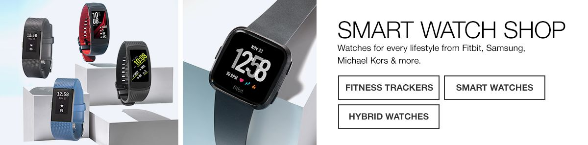 9edeca736cd Blue Smart Watches - Macy s