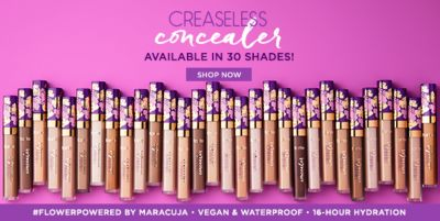 Creaseless, concealer, Available in 30 Shades! Shop Now