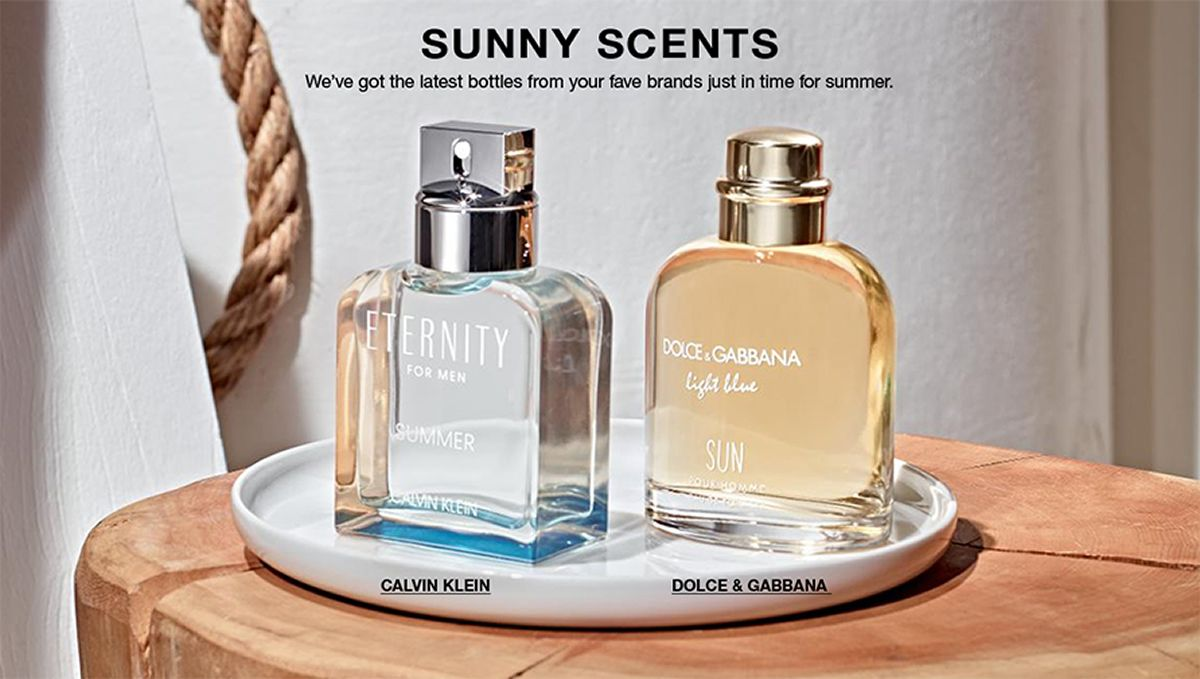 Sunny Scents, We've got latest bottles from your fave brands just in time for summer, Calvin Klein, Dolce and Gabbana